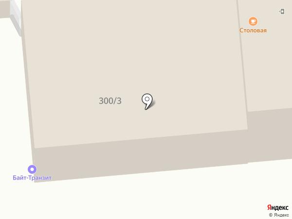 Линии Тока на карте Омска
