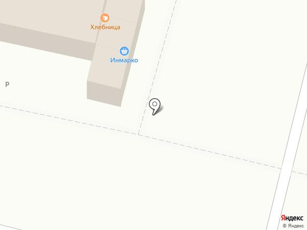Хлебница на карте Омска