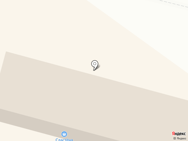 Сластена на карте Сургута
