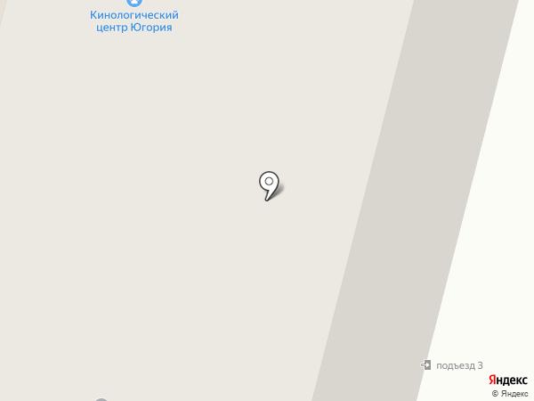 Юрлига на карте Сургута