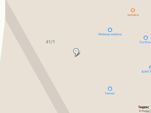 Глянец на карте Сургута
