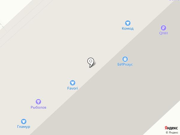 КоМОД на карте Омска