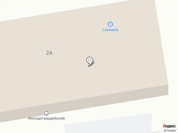 Свежевъ на карте Омска