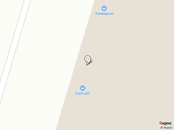 УНИВЕРСАЛ на карте Сургута