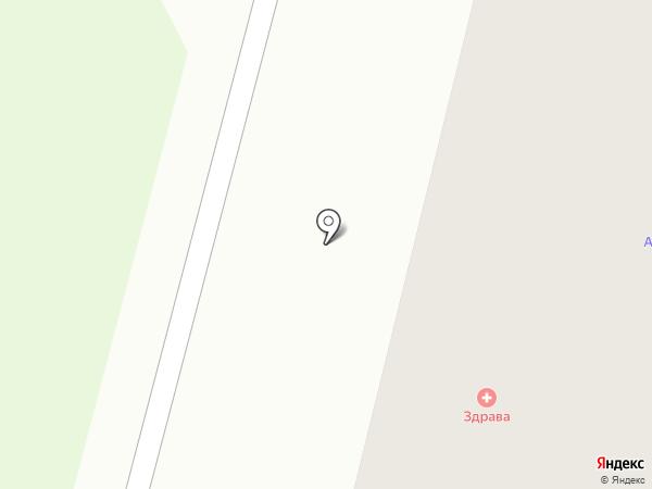 Здрава на карте Сургута