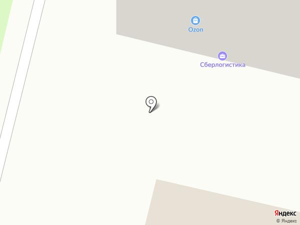 На районе на карте Сургута