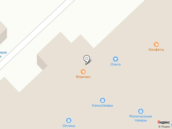 Сеть пекарен на карте Омска