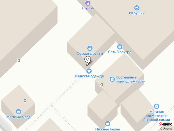 Де`Крендель`е на карте Омска