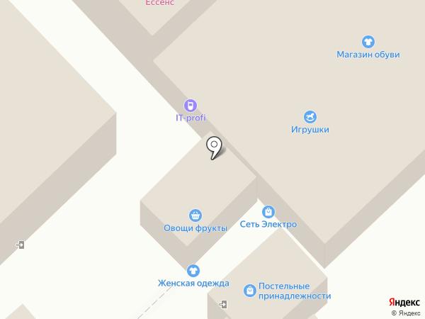 IT-PROFI на карте Омска