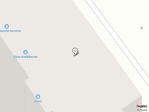 Семмед на карте Омска