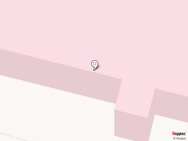 Взрослая поликлиника на карте Сургута