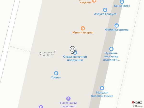 Сладонеж на карте Омска