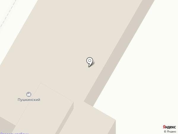 Пушкинский на карте Пушкино