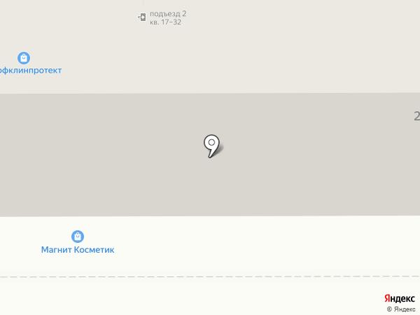 ВЭБ на карте Омска