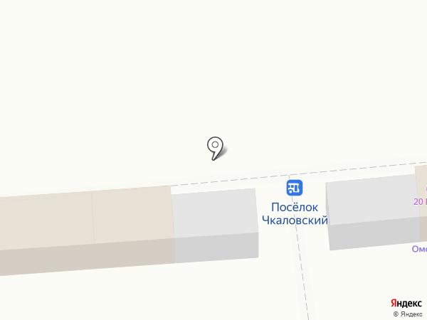Киоск по продаже кондитерских изделий на карте Омска