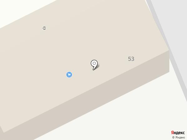 Гранит на карте Омска