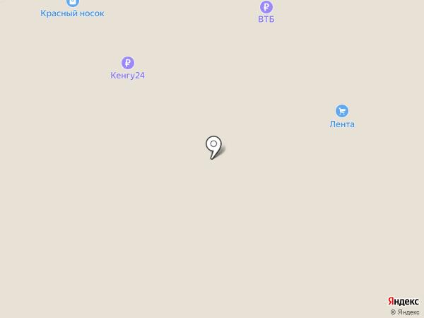 Лента на карте Омска