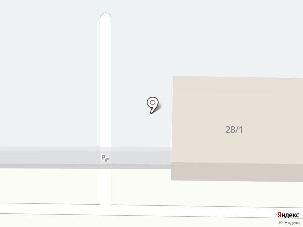 Автостоянка на карте Ростовки