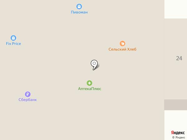 Сельский хлеб на карте Ростовки
