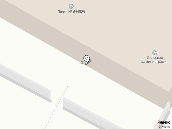 Почтовое отделение №529 на карте Богословки