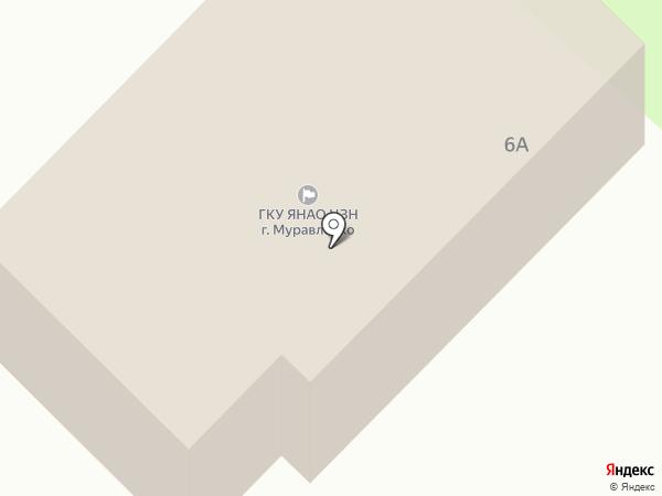 Центр занятости населения г. Муравленко на карте Муравленко