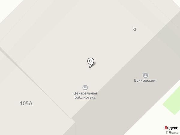 Центральная городская библиотека на карте Муравленко