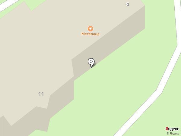 Метелица на карте Муравленко