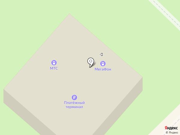 Мегафон на карте Муравленко