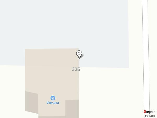 Ивушка на карте Муравленко