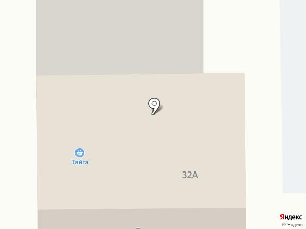 Тайга на карте Муравленко