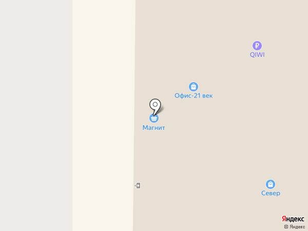 Юлия на карте Муравленко