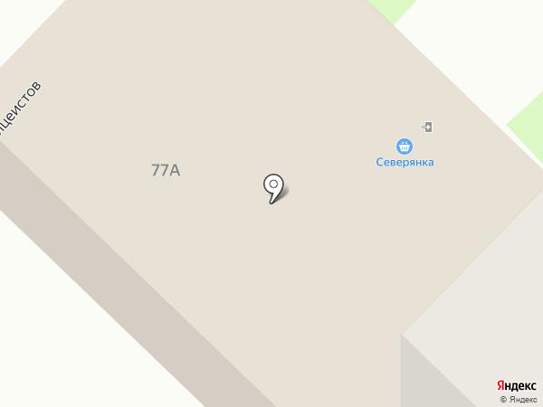Северянка на карте Муравленко