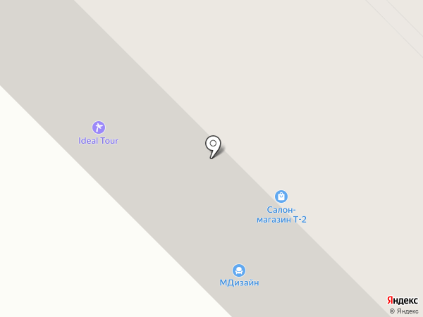 Канцелярский мир на карте Муравленко
