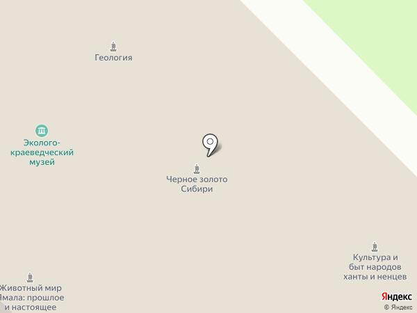 Молодежный центр на карте Муравленко