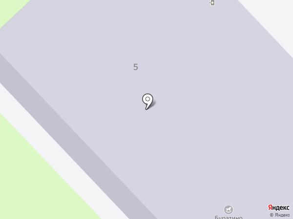 Буратино на карте Муравленко