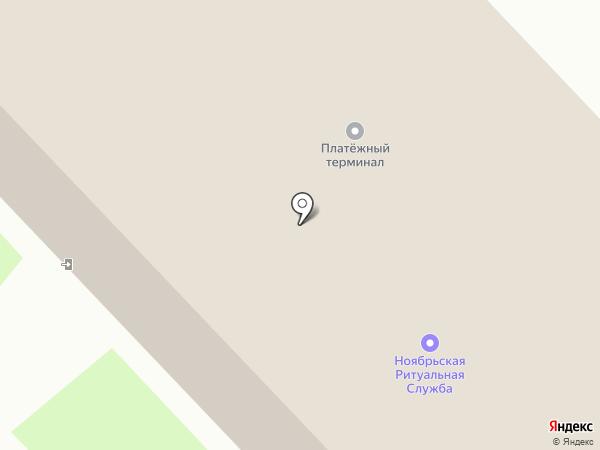 Авангард на карте Муравленко
