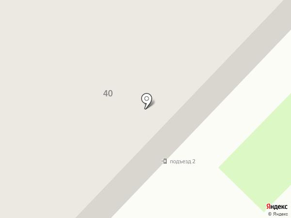 Молодежный на карте Муравленко