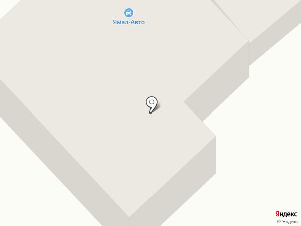 Ямал-Авто на карте Ноябрьска