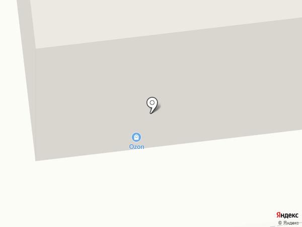 Почтовое отделение №4 на карте Ноябрьска