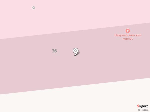 Ноябрьская центральная городская больница на карте Ноябрьска