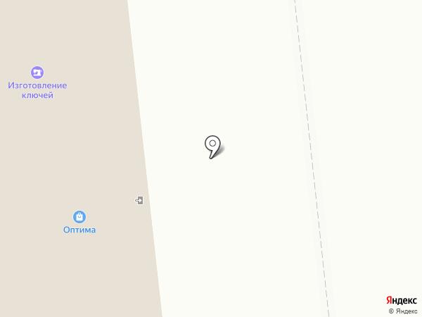 Гараж на карте Ноябрьска