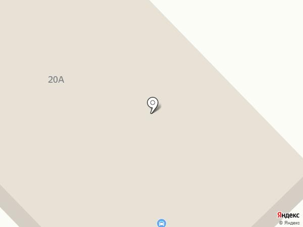 Автоштучка на карте Ноябрьска