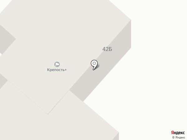 Крепость+ на карте Ноябрьска