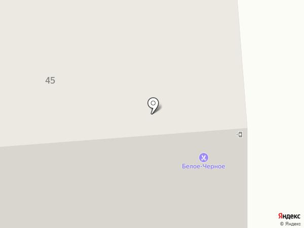 БелоечЁрное на карте Ноябрьска