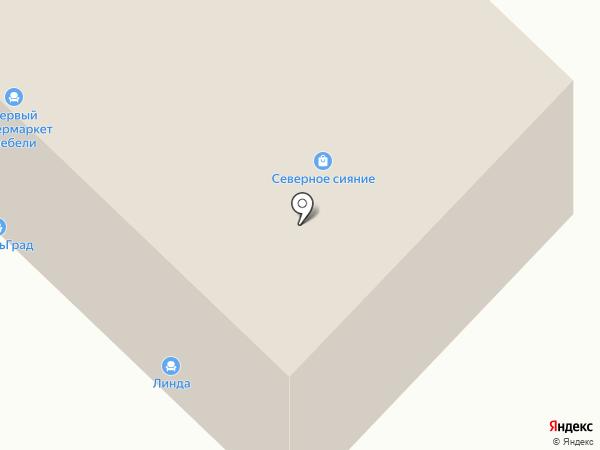 Askona на карте Ноябрьска