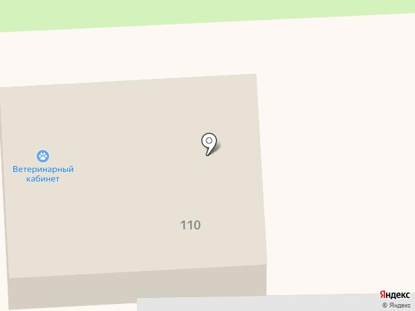 Ветеринарный кабинет на проспекте Мира на карте Ноябрьска