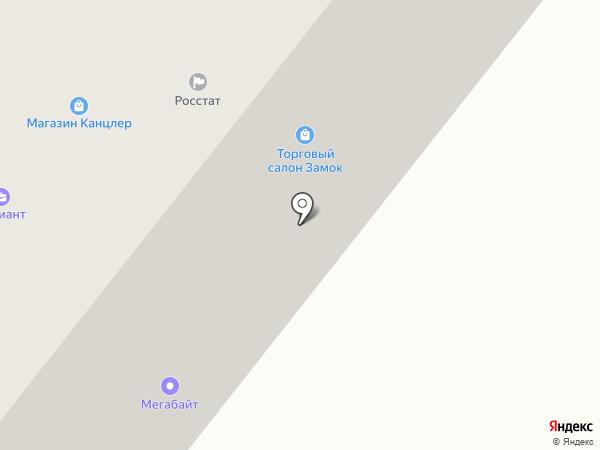 Буренка на карте Ноябрьска