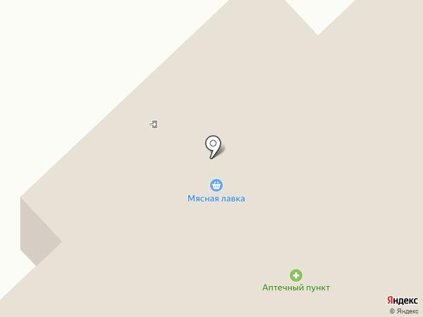 Мясная лавка на карте Ноябрьска