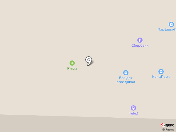 O`STIN на карте Ноябрьска