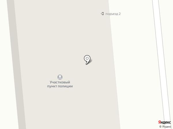 Участковый пункт полиции на карте Ноябрьска